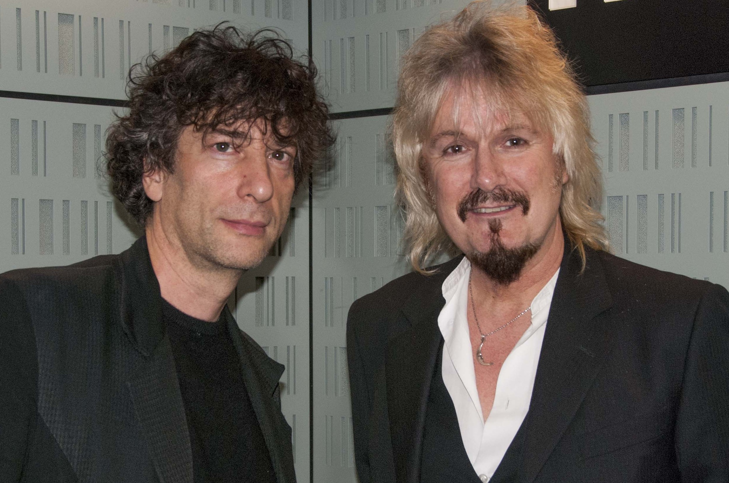 Neil Gaiman and Dirk Maggs